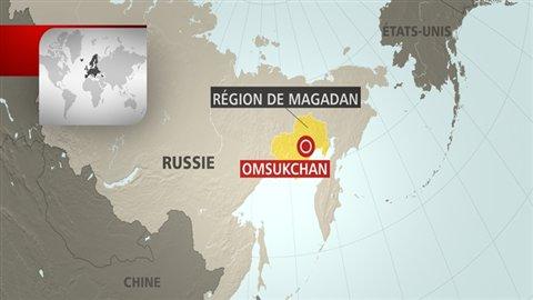 Région de Magadan en Russie