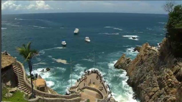Paisaje turístico de Acapulco