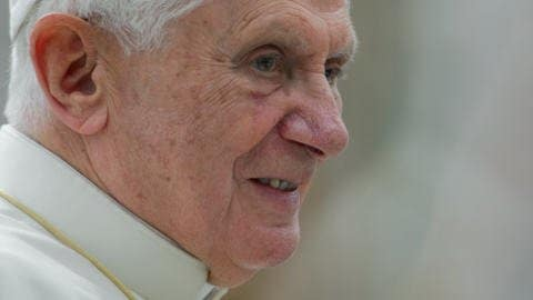 Le pape Benoît XVI (archives)