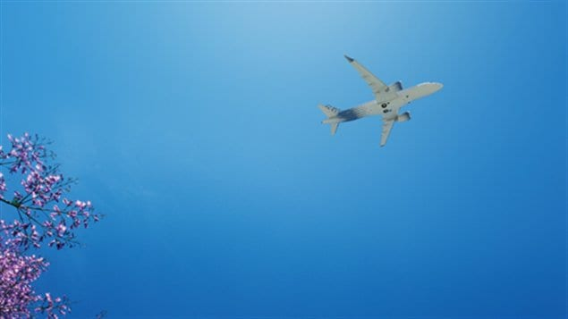 Appareil de la CSeries de Bombardier