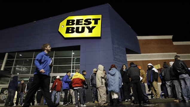 Un magasin de la chaîne Best Buy