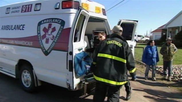 Ambulance Nouveau-Brunswick