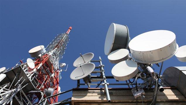 Des antennes de télécommunication