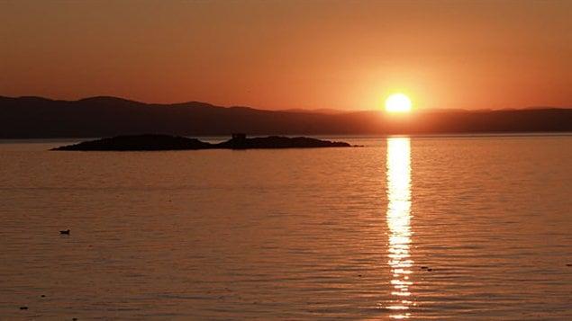 Coucher de soleil du 10 septembre 2011