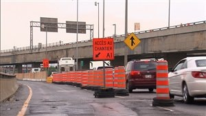 Fermeture complète de la bretelle de l'autoroute 720 ouest vers l'autoroute 20 ouest