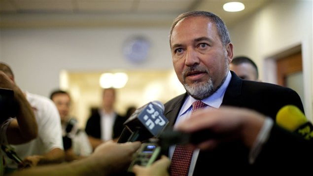 L'ancien ministre israélien des Affaires étrangères, Avigor Lieberman (archives)