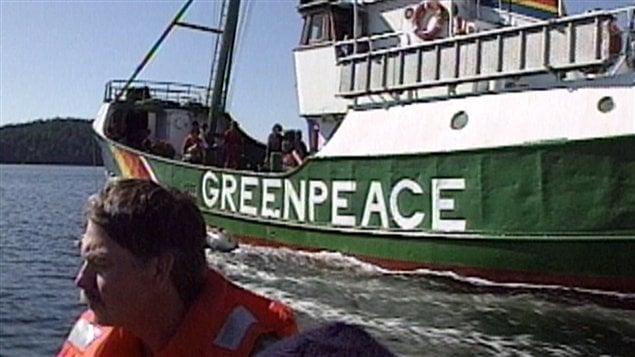 Il y a plus de 40 ans en Colombie-Britannique, l'organisme Greenpeace voyait le jour. 