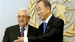 Offensive palestinienne à l'ONU