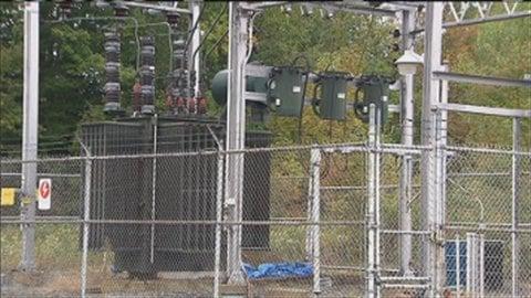 Station de pompage de Montreal Pipe-Line dans le Canton de Potton