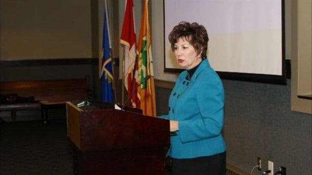 La sénatrice Claudette Tardif