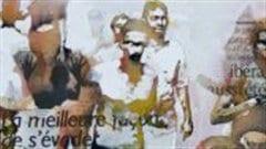 La foule, une peinture de Bruce Clarke