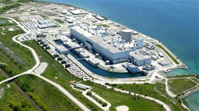 La centrale nucléaire de Darlington