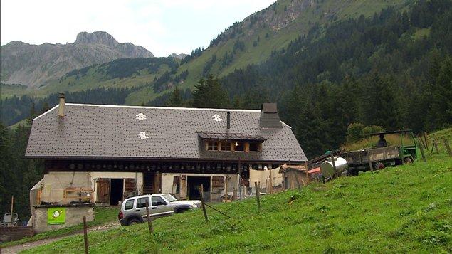 L'Étivaz est un fromage d'alpage produit artisanalement dans la région du «Pays d'en Haut», en Suisse.