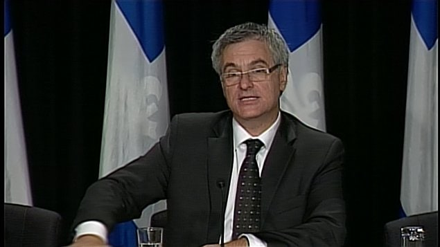 Jean-Marc Fournier, ministre de la Justice du Qubec