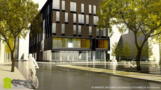 Maquette de la maison du d veloppement durable - Maison du developpement durable ...