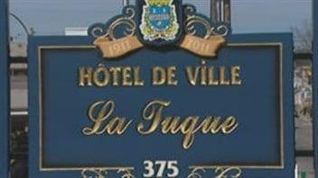 L'hôtel de ville de La Tuque