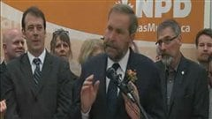 Thomas Mulcair se lance dans la course à la succession de Jack Layton