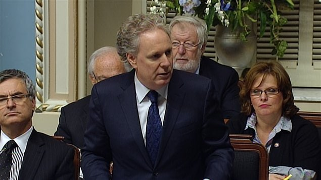 Le premier ministre qu Qubec, Jean Charest