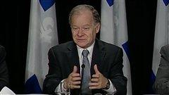 Le ministre québécois des Finances Raymond Bachand