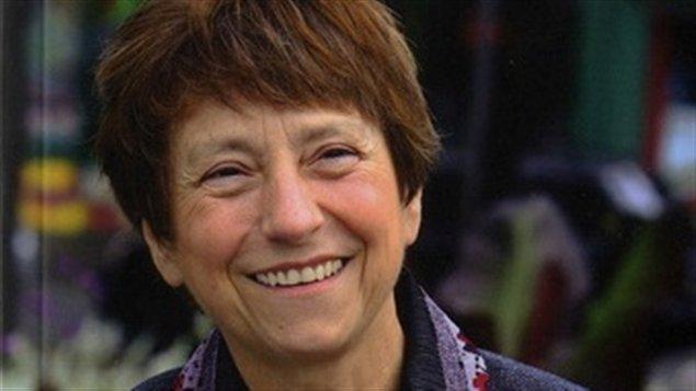 Françoise David, image tirée de la couverture du livre De colère et d'espoir