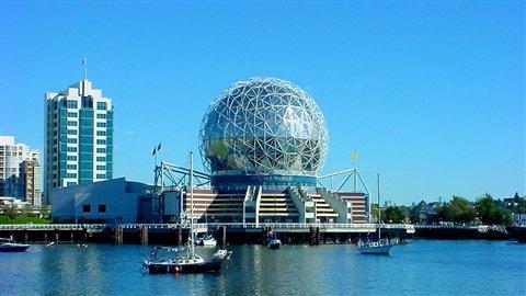 Site de l'Expo de Vancouver en 1986.