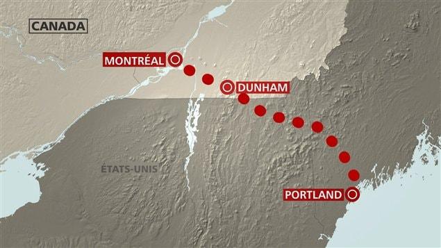 Montréal Pipe-Lines souhaite installer une station de pompage à Dunham.