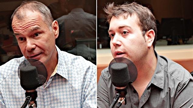 Le Dr Luc Bessette et Robert-Paul Juster