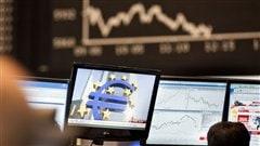 Bourse de Francfort, en Allemagne