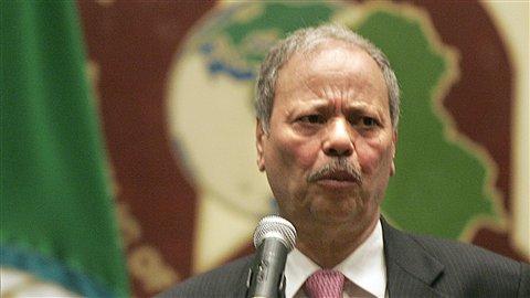 Le vice-secrétaire général de la Ligue arabe, Ahmed Ben Helli.