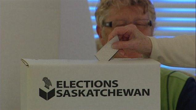 Elections Saskatchewan en 2011.