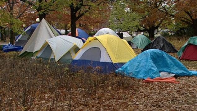 Campement des indignés d'Ottawa, 2011