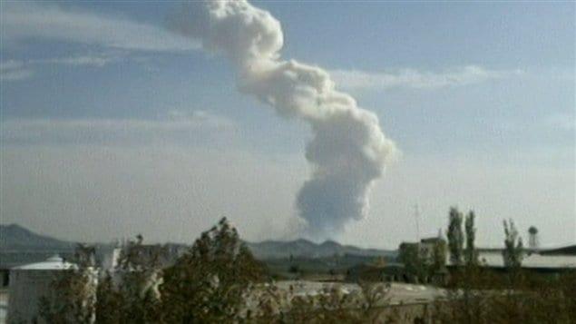 Une explosion d'un dépôt de munitions sur une base militaire fait 17 morts près de Téhéran, en Iran.