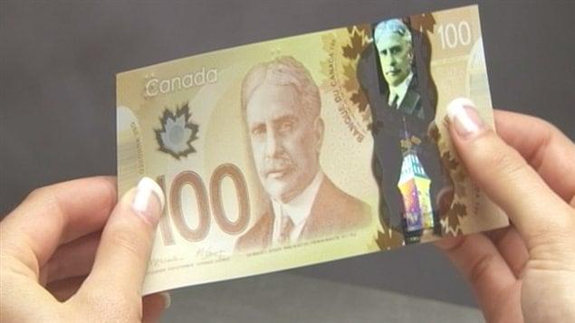 Le nouveau billet de 100 $