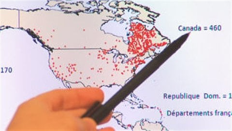 Épidémie de rougeole au Québec en 2011