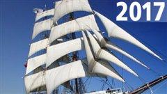Les grands voiliers seront à Québec en 2017.