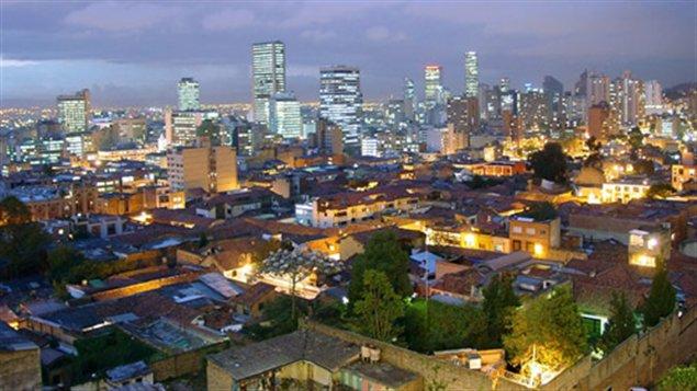 La nuit à Bogota