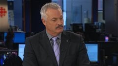 Le prsident de la Fdration des policiers et policires municipaux du Qubec (FPMQ), Denis Ct.