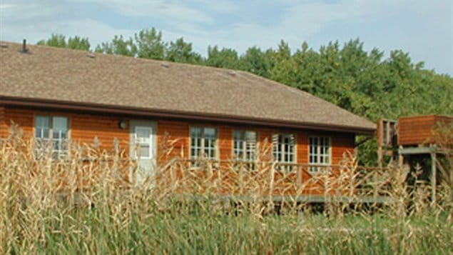 La station de recherche du marais Delta sur le lac Manitoba a été touchée par les inondations d'envergure du printemps 2011.
