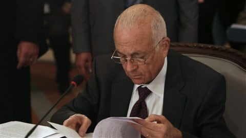 Le secrétaire général de la Ligue arabe, Nabil Al-Arabi, le 24 novembre au Caire