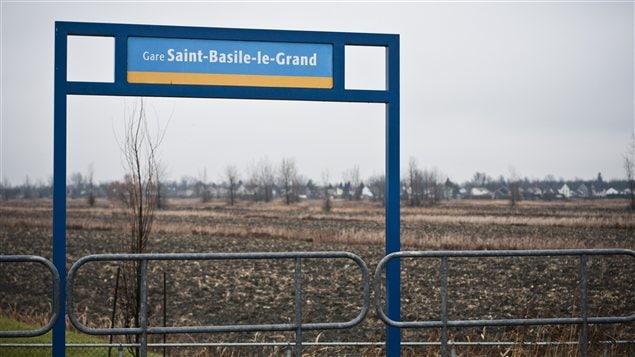 Gare de Saint-Basile-le-Grand