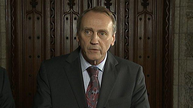John Duncan, ministre fédéral des Affaires autochtones