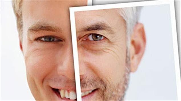 Vieillissement d'un visage