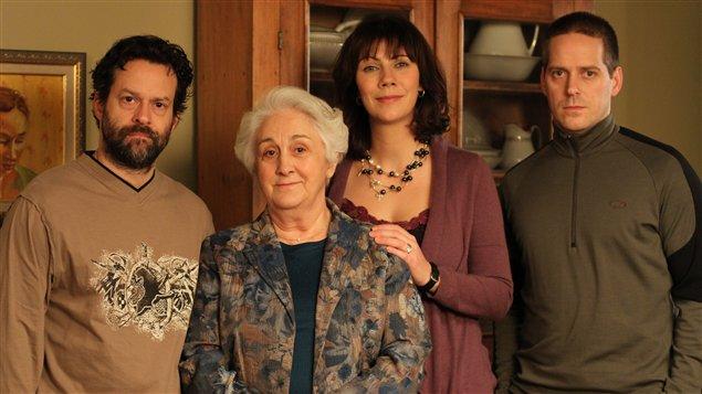 Alexis Martin, Nicole Leblanc, Geneviève Brouillette, Daniel Parent