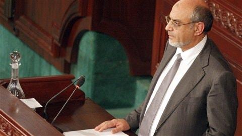 Le premier ministre tunisien Hamadi Jebali