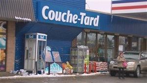 Un dépanneur Couche-Tard au Québec