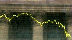 Une première récession depuis la crise financière