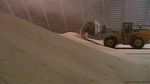 Un tracteur chez Potash Corp