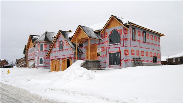 Maisons dans les environs de Sudbury, en Ontario