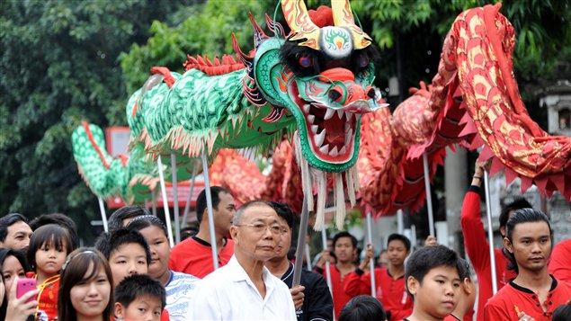 La communauté chinoise d'Indonésie célèbre elle aussi le nouvel an lunaire.