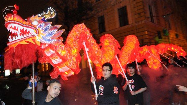 Les Chinois vivant en Ukraine ont célébré ce nouvel an chinois.